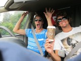 UH OH... NOAH AND IBIS HIT THE ROAD IN NZ!!