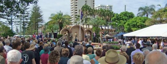 ANZAC Day at Burleigh